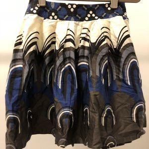 New Forever 21 Mini Multi Colored Skirt Sz XS